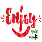 Enjoy your meals